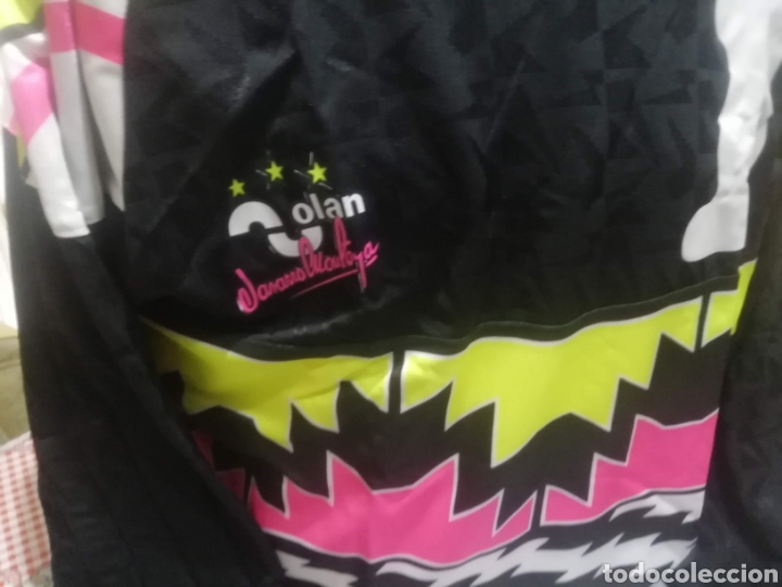 Coleccionismo deportivo: 6 camisetas portero fútbol históricas. LOTE UNICO. - Foto 10 - 235385090