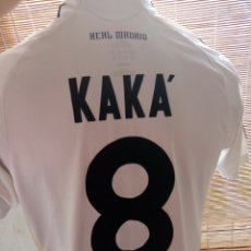 Collectionnisme sportif: CAMISETA FÚTBOL REAL MADRID KAKA. Lote 236876590