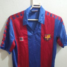 Coleccionismo deportivo: FC BARCELONA MEYBA XS FOOTBALL FUTBOL CAMISETA SHIRT. Lote 237368055