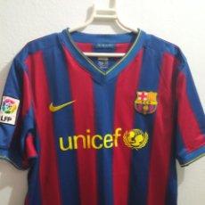 Coleccionismo deportivo: FC BARCELONA MESSI XL FOOTBALL FUTBOL CAMISETA SHIRT. Lote 237368320