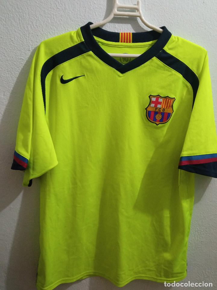 XENIA FC BARCELONA MATCH WORN FEMINAS M FOOTBALL FUTBOL CAMISETA SHIRT (Coleccionismo Deportivo - Ropa y Complementos - Camisetas de Fútbol)