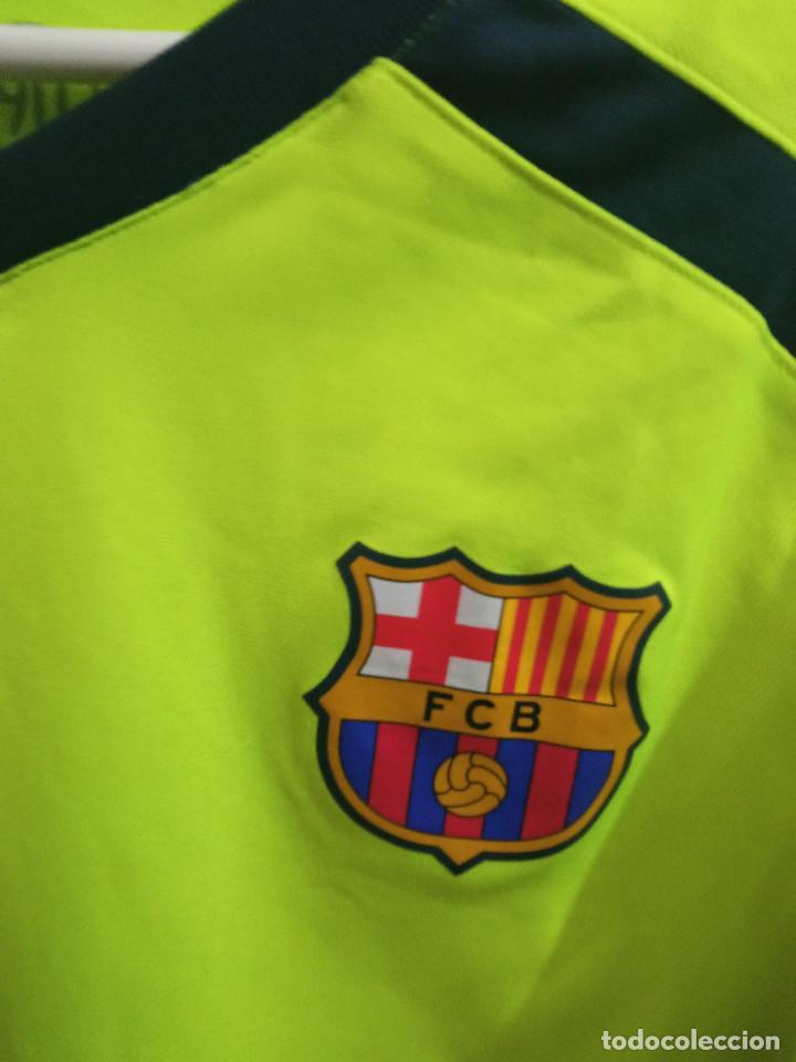 Coleccionismo deportivo: XENIA FC BARCELONA MATCH WORN FEMINAS M football futbol camiseta shirt - Foto 2 - 237370285