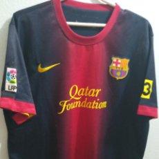 Coleccionismo deportivo: FC BARCELONA L FOOTBALL FUTBOL CAMISETA SHIRT. Lote 237370465