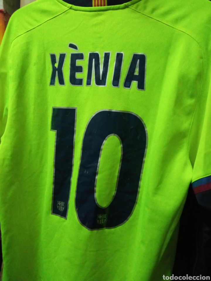 Coleccionismo deportivo: XENIA FC BARCELONA MATCH WORN FEMINAS M football futbol camiseta shirt - Foto 3 - 237370285