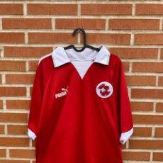 Coleccionismo deportivo: CAMISETA FUTBOL OFICIAL/ORIGINAL SUIZA 2002. Lote 238620205