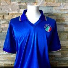 Coleccionismo deportivo: CAMISETA DE ITALIA MATCH WORN GIANLUCA VIALLI ITALIA 90. Lote 242877340