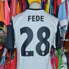 Coleccionismo deportivo: #28 FEDE VALENCIA C.F 2013-2014 CAMISETA ESPECIAL X ANIVERSARIO. Lote 243140785