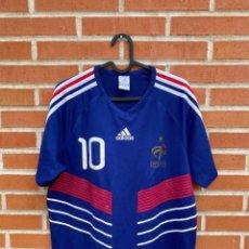 Coleccionismo deportivo: CAMISETA FUTBOL ORIGINAL/OFICIAL FRANCIA 2010 #10 BENZEMA. Lote 243373220