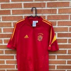 Coleccionismo deportivo: CAMISETA FUTBOL ORIGINAL/OFICIAL ESPAÑA 2004. Lote 243373790