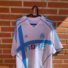 Coleccionismo deportivo: CAMISETA FUTBOL ORIGINAL/OFICIAL OLYMPIQUE MARSELLA 2004-2005. Lote 243374105