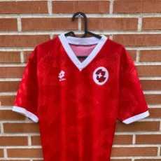 Coleccionismo deportivo: CAMISETA FUTBOL ORIGINAL/OFICIAL SUIZA 1992-1994. Lote 243379610