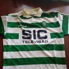 Colecionismo desportivo: SPORTING LISABON LISBOA FC PORTUGAL CAMISETA FUTBOL FOOTBALL SHIRT L. Lote 243803820
