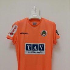 Coleccionismo deportivo: CAMISETA MATCHWORN ALANYASPOR FC TURQUÍA 2020 MBILLA. Lote 244440675