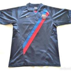 Coleccionismo deportivo: FC BARCELONA CAMISETA NIKE SEGUNDA EQUIPACION OFICIAL AÑO 2002 03. Lote 244475175