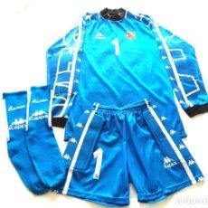 Coleccionismo deportivo: FC BARCELONA EQUIPACION KAPPA VITOR BAIA. Lote 244478625