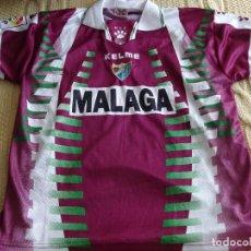 Coleccionismo deportivo: CAMISETA DEL MÁLAGA CLUB DE FÚTBOL. TEMPORADA LIGA 1998 1999. JUGADOR 20 ARIEL ZARATE. 230GR. Lote 244742770