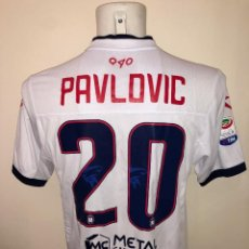 Coleccionismo deportivo: CAMISETA MATCHWORN FC CROTONE 2018 PAVLOVIC. TALLA XL. Lote 244939350
