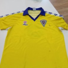 Collectionnisme sportif: CAMISETA CÁDIZ CF. Lote 245105770