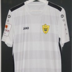 Coleccionismo deportivo: CAMISETA MATCHWORN ANZHI FC MAKHACHKALA 2019. GURAM TETRASHVILI. Lote 245158005