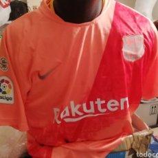 Coleccionismo deportivo: CAMISETA FC BARCELONA NÚM 10 MESSI. TALLA L.. Lote 245313805