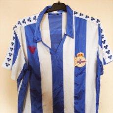 Coleccionismo deportivo: CAMISETA DEPORTIVO DE LA CORUÑA GILCOR 1986 1987 DORSAL 21 RCD REAL CLUB DEPORTIVO DE LA CORUÑA. Lote 246237545