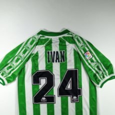Coleccionismo deportivo: REAL BETIS MATCH WORN IVÁN PEREZ. Lote 246365865