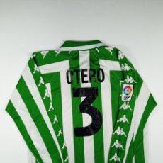 Coleccionismo deportivo: REAL BETIS MATCH WORN JORGE OTERO. Lote 246365970