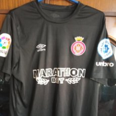 Coleccionismo deportivo: GIRONA CF MATCH WORN M BONO GOALKEPPER MOROCCO MARRUECOS SEVILLA FC CAMISETA FUTBOL FOOTBALL SHIRT. Lote 246533310