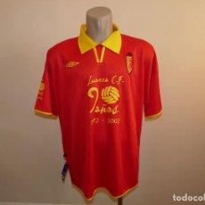 Coleccionismo deportivo: CAMISETA DE FUTBOL LUARCA C.F. UMBRO. Lote 246626200