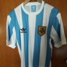 Collezionismo sportivo: CAMISETA CASA RETRO SELECCION DE ARGENTINA MARADONA. Lote 249015370