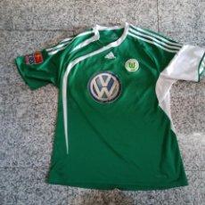 Coleccionismo deportivo: CAMISETA WOLFSBURGO T-SHIRT VFL WOLFSBURG L ESSWEIN. Lote 249512170