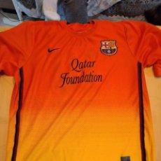 Coleccionismo deportivo: M-31 CAMISETA FUTBOL FC BARCELONA NIKE QATAR FOUNDATION MESSI 10. Lote 252202420