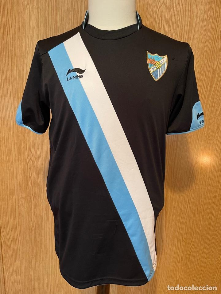 CAMISETA SUPLENTE DEL MALAGA TALLE L (Coleccionismo Deportivo - Ropa y Complementos - Camisetas de Fútbol)
