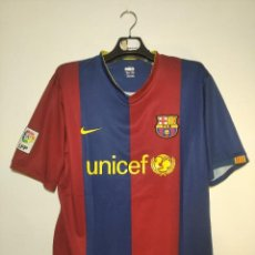 Coleccionismo deportivo: CAMISETA F.C. BARCELONA - 1ª EQUIPACIÓN NIKE (2006 / 2007) TALLA XL - BARÇA - BLAUGRANA - UNICEF. Lote 253726155