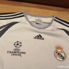 Coleccionismo deportivo: ORIGINAL | FUTBOL | TALLA M | CAMISETA DEL REAL MADRID CHAMPIONS LEAGUE. Lote 254104365