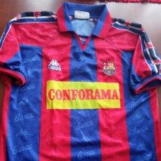 Coleccionismo deportivo: FC BARCELONA RARE SECTION SPONSOR 1996 XL CAMISETA FUTBOL FOOTBALL SHIRT. Lote 254313600