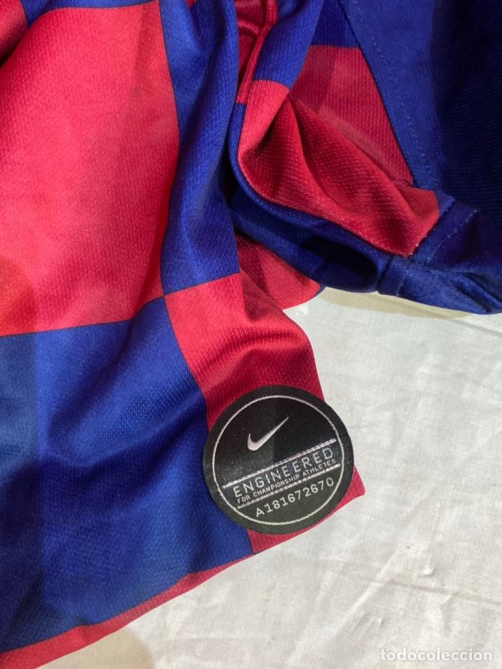 Coleccionismo deportivo: CAMISETA ORIGINAL NIKE F.C. BARCELONA LOGO RAKUTEN unicef - NUM. 10 MESSI - TALLA 2XL - Foto 6 - 254775130
