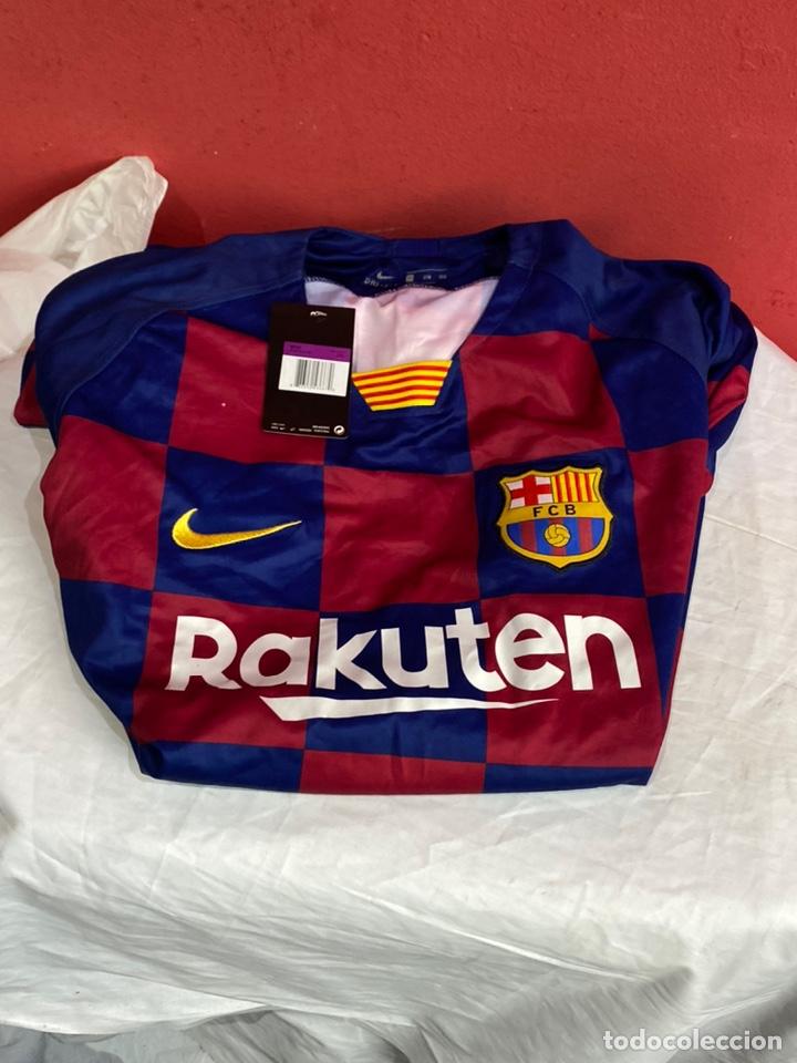 CAMISETA ORIGINAL NIKE F.C. BARCELONA LOGO RAKUTEN UNICEF - NUM. 10 MESSI - TALLA 2XL (Coleccionismo Deportivo - Ropa y Complementos - Camisetas de Fútbol)