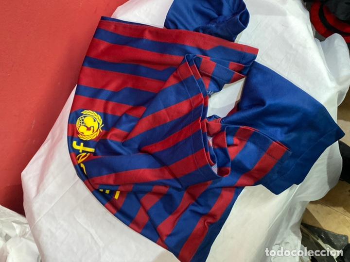 Coleccionismo deportivo: Camiseta fútbol club barcelona Nike original Qatar fundación talla L. Ver fotos - Foto 5 - 254845785