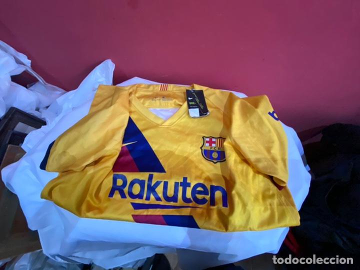 CAMISETA ORIGINAL NIKE F.C. BARCELONA LOGO RAKUTEN UNICEF - NUM. 10 MESSI - TALLA L (Coleccionismo Deportivo - Ropa y Complementos - Camisetas de Fútbol)
