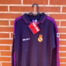 Coleccionismo deportivo: CAMISETA FÚTBOL ORIGINAL/OFICIAL REAL MADRID 1995-1996. Lote 255366430