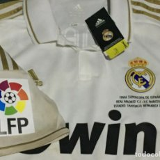 Coleccionismo deportivo: CAMISETA PLAYER ISSUE PREPARADA REAL MADRID SUPERCOPA 2011 DE RONALDO. Lote 255929815