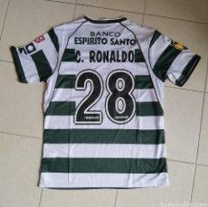 Coleccionismo deportivo: CAMISETA CRISTIANO RONALDO SPORTING CP 2001/2002 TALLA L. Lote 257421990
