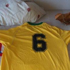 Coleccionismo deportivo: CAMISETA SELECCION BRASIL Nº 6 CUATRO ESTRELLAS. Lote 259004850