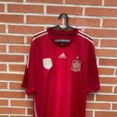 Coleccionismo deportivo: CAMISETA FÚTBOL ORIGINAL/OFICIAL ESPAÑA 2014. Lote 260329915