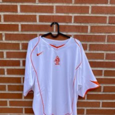 Coleccionismo deportivo: CAMISETA FÚTBOL ORIGINAL/OFICIAL HOLANDA 2004. Lote 260330070