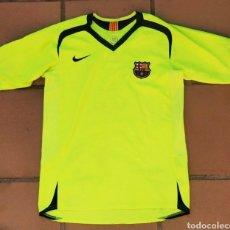 Coleccionismo deportivo: CAMISETA NIKE FC BARCELONA 2006-07 SEGUNDA EQUIPACIÓN XL JUNIOR 158-170 CM. Lote 261254005