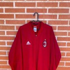 Coleccionismo deportivo: CHAQUETA FUTBOL ORIGINAL/OFICIAL AC MILAN. Lote 261519845
