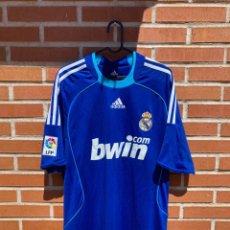 Coleccionismo deportivo: CAMISETA FUTBOL ORIGINAL/OFICIAL REAL MADRID 2008-2009. Lote 261555030