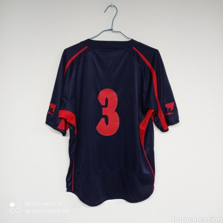 Coleccionismo deportivo: Camiseta fútbol ATLETICO VALLBONENSE - Pobla de Vallbona ( Valencia) - Foto 2 - 262215555